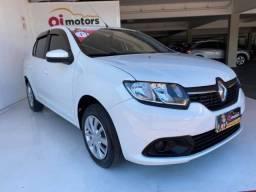 Título do anúncio: * Renault Logan Expression 1.6 2017 - Apenas 57 Mil Km - Ótimo para app