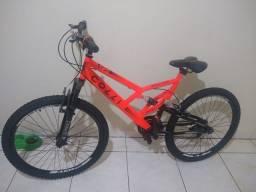 Título do anúncio: Bicicleta Colli Laranja Neon Aro 26