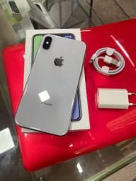 iPhone X 256gb com garantia loja física