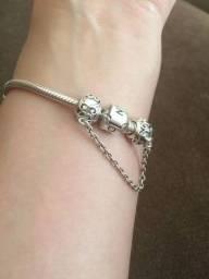 Bracelete original Pandora c/ nota e nunca usado