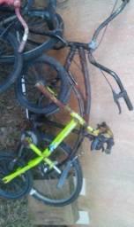Pacote de 4 bicicletas