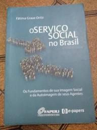 Livro O Serviço Social no Brasil autora Fatima Grave Ortiz