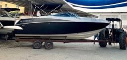 Lancha Ventura 250 confort ano reg: 2010, 260hp mercruiser GAS. - EQUIPADA e IMPECÁVEL - 2010