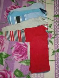 Lote roupa/calçado menino