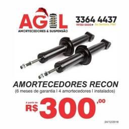Amortecedor recon 300,00 os 4 instalados