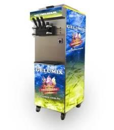 Maquina de sorvete soft Gelumix
