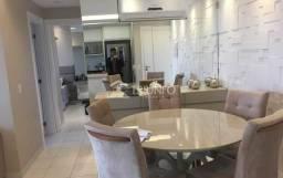 (90) Apartamento com Projetados no Altos do Calhau, 02 Suítes, Varanda Gourmet