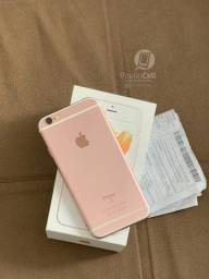 Iphone 6s 32gb rosê completo (nota fiscal)