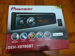 Cd Player Pioneer Deh-x8780bt Bluetooth Mixtrax,usb,mp3