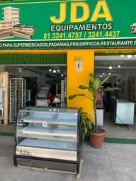 Balcão refrigerado 2 placa fria -frios e latícinios - ideal para mercadinhos e padarias