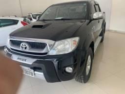 Toyota Hilux Cabine Dupla HILUX CD SRV 3.0 4X4 AUTOMATICA 4P - 2011