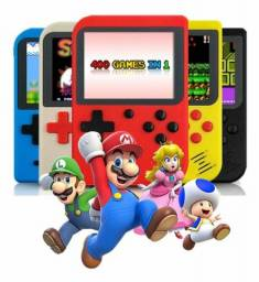 Mini Game Portátil 400 Jogos Internos Gamer Slim Retrô