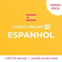 CURSO DE ESPANHOL - 59,90 - CERTIFICADO