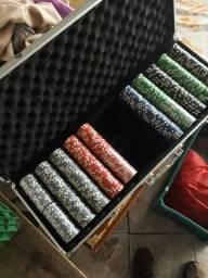 Maleta poker 500 fichas