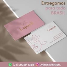 Cartão de visita ( A partir de R$0,15 unidade )