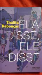 Livro - Ele disse, Ela disse - Thalita Rebouças