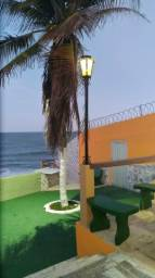 Casa Mobiliada à Beira Mar com Piscina. Temporada, Feriados, Fins de semana