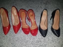 Sapatos número 34