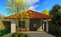 Casa nova com 3 quartos sendo 1 suíte com closet e varanda privativa (Parnaíba)