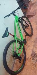 Bicicleta toda Shimano coisa top ñ faço menos ñ tenho pressa pra vender
