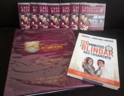 Kit 7 DVD`s do curso Casamento Blindado + Livro de brinde