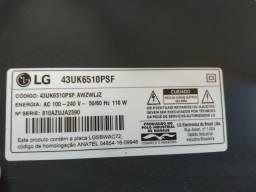 TV LG smart 4k 43 polegadas (tela queimada)