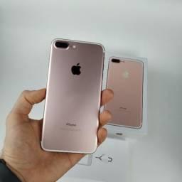 Iphone 7 PluS Rose 128GB!! 12x de 206,19 no Cartão!