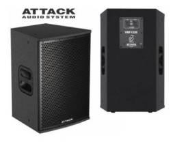 Caixa Acústica 12 Passiva Attack Vrf 1220 200w + Garantia NF