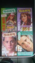 Mini revistas RBD REBELDE