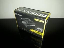 Fonte Corsair 400W 80 Plus White VS400 - CP9020117-LA