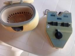 Kit pupilometro e máquina anti bactérias