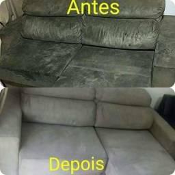 Limpeza de sofás colchões bancos de carros