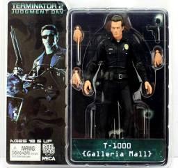 Boneco Action figure Exterminador do futuro  T1000