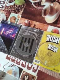 Rush combo de CD/DVD