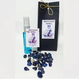 Aromatizador com Óleo essencial Lavanda e Ágata Azul
