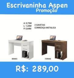 Mesa para pc ou computador 2 gavetas na promoção