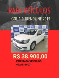 Gol 1.0 2019 R$ 38.900,00 - ERIC RAFA VEICULOS- werd1