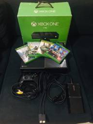 Xbox One 1 TB 4 jogos