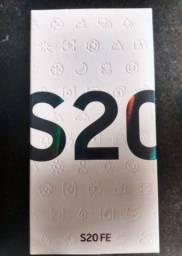 s20 FE 128GB lacrado com  1 ano de garantia