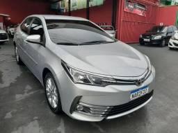 Corolla 1.8 GLI 2018 com apenas 16 km