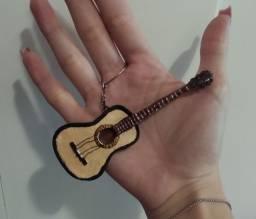Chaveiro de violão