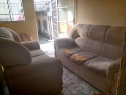 Vendo esse sofá de 2 e 3 lugares
