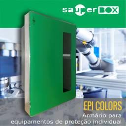 Armário / Abrigo Epi Colors 64x44x20 - Moldura 62 Gz