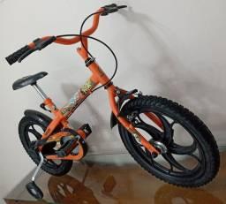 Bicicleta infantil aro 16 da Caloi Power Rex (Novíssima)