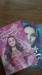 2 livros de Larissa Manoela