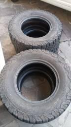 Jogo de pneu 265 75 r16