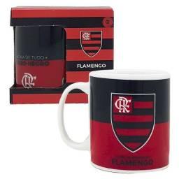 Caneca Porcelana Personalizada 300l Flamengo Presente