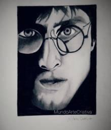 Desenho Harry Potter