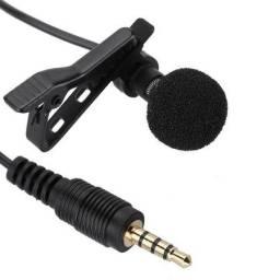 Microfone De Lapela Celular Conector P3 - Entrega Grátis