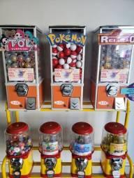 Maquinas de bolinhas (vending machine) parcelo